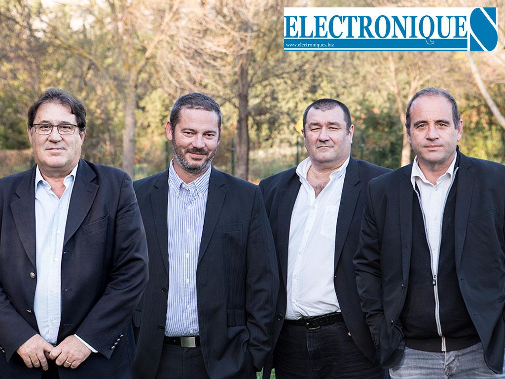 De gauche à droite, Jean-Pascal Peyret, président, David Coulon, directeur technique, Pierre-Paul Goiffon, directeur génér al, et Jean-Michel Tarlet, cardiologue et directeur du département médical